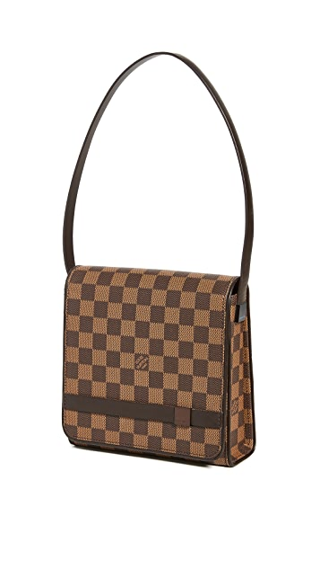 What Goes Around Comes Around LV Damier Ebene Tribeca 迷你包