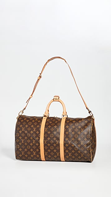 What Goes Around Comes Around LV 单色 Keepall 包