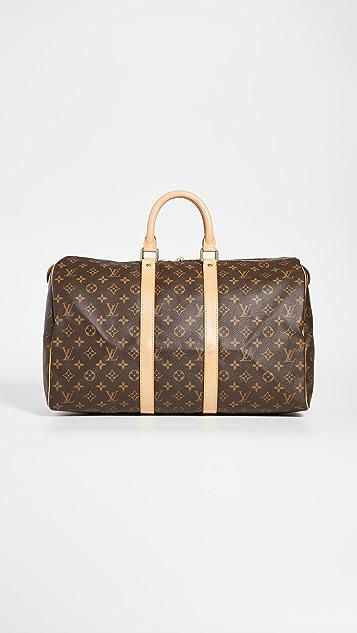 What Goes Around Comes Around Louis Vuitton Monogram Keepall Bag