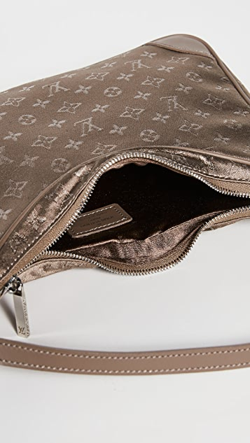 What Goes Around Comes Around LV Beige Satin Little Boulogne 包