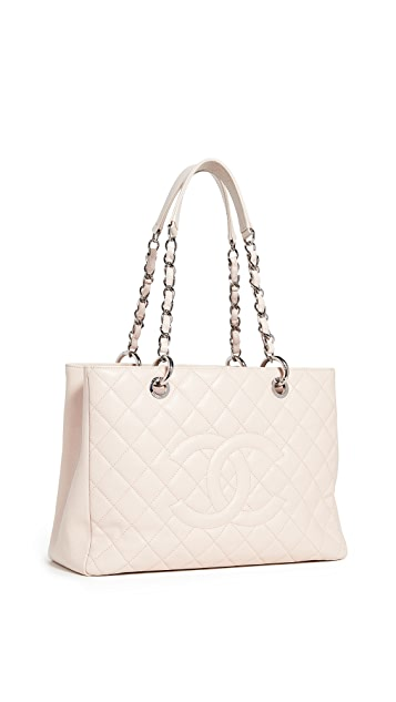 What Goes Around Comes Around Chanel Pink Caviar Bag