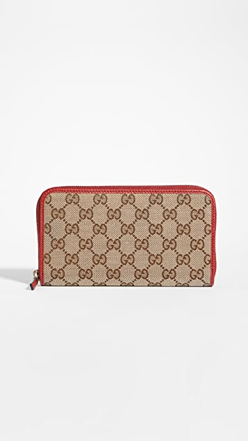 What Goes Around Comes Around Gucci Zip Around Wallet