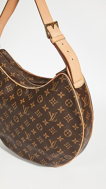 What Goes Around Comes Around Louis Vuitton Monogram Croissant Hobo