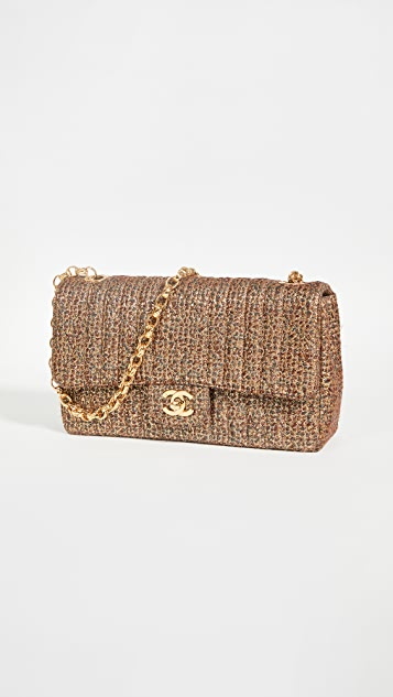 What Goes Around Comes Around Chanel Gold Tweed 10