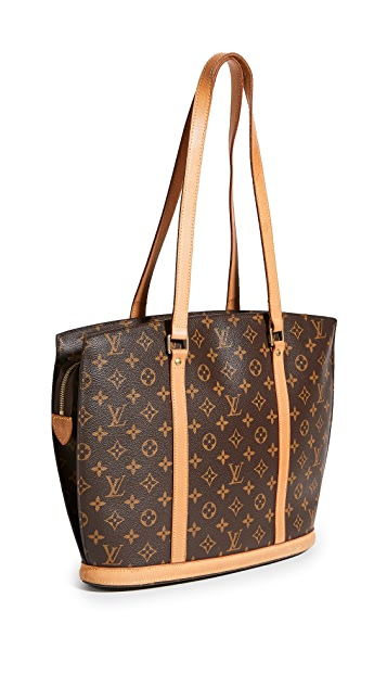 What Goes Around Comes Around Louis Vuitton Babylone 交织字母托特包