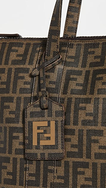 What Goes Around Comes Around Fendi Brown Zucca 托特包