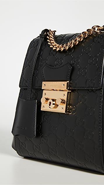 What Goes Around Comes Around Gucci Padlock Backpack