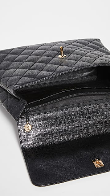 What Goes Around Comes Around Chanel Black Caviar Kelly Bag