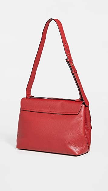 What Goes Around Comes Around Gucci Red Leather Bag