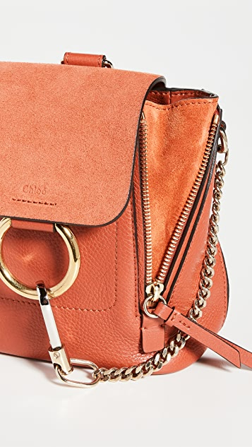 What Goes Around Comes Around Chloe Leather Faye Mini Backpack