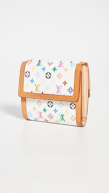 What Goes Around Comes Around Louis Vuitton Multicolor Elise Wallet