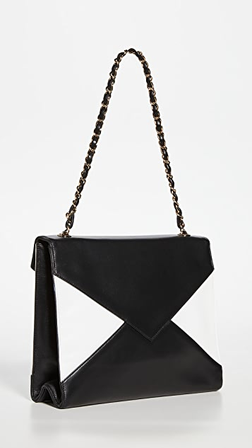 What Goes Around Comes Around Chanel Lamb Envelope Flap Bag