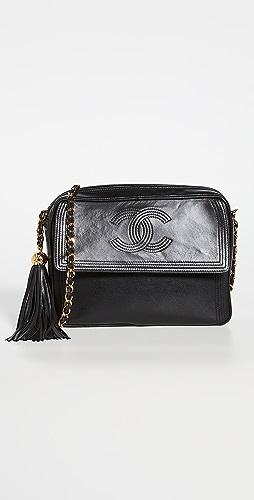 What Goes Around Comes Around - Chanel Black Lambskin Pocket Camera Bag