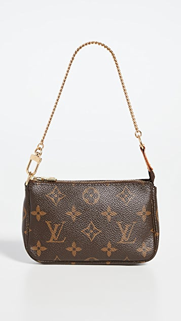 What Goes Around Comes Around Louis Vuitton 交织字母迷你手包