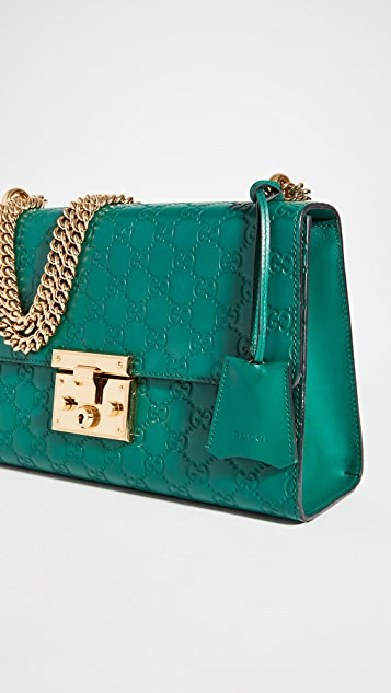 What Goes Around Comes Around Gucci Padlock Shoulder Bag