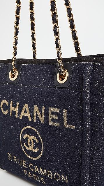 What Goes Around Comes Around Chanel 牛仔布 Deville 新颖迷你包