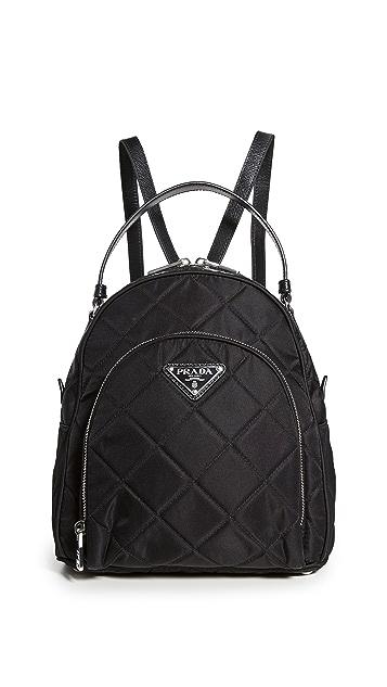 What Goes Around Comes Around Prada Nylon Backpack Mini