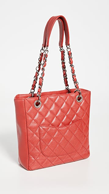 What Goes Around Comes Around Chanel Red Caviar Bag