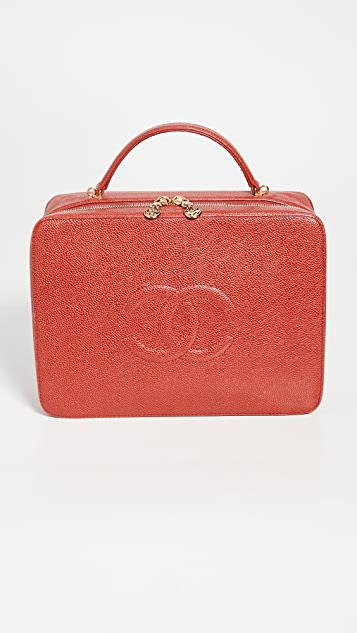 What Goes Around Comes Around Chanel CVR Lunchbox Vanity Bag