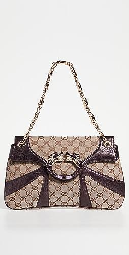 What Goes Around Comes Around - Gucci Purple Jewel Dragon Shoulder Bag