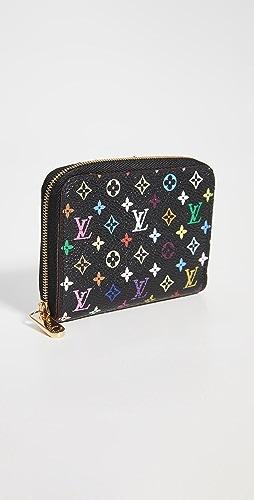 What Goes Around Comes Around - Louis Vuitton Black Multi Zippy Coin Purse