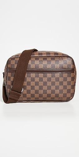 What Goes Around Comes Around - Louis Vuitton Damier Ebene Reporter PM Bag
