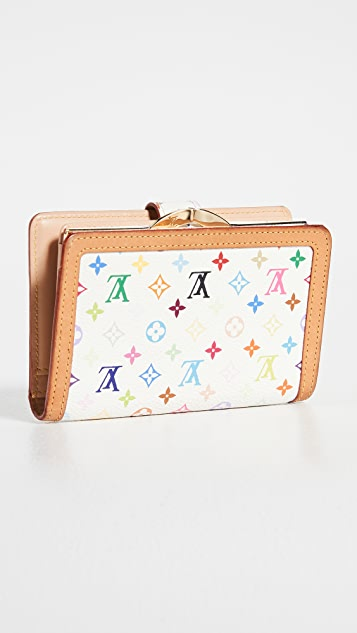 What Goes Around Comes Around Lv White Multi Viennois