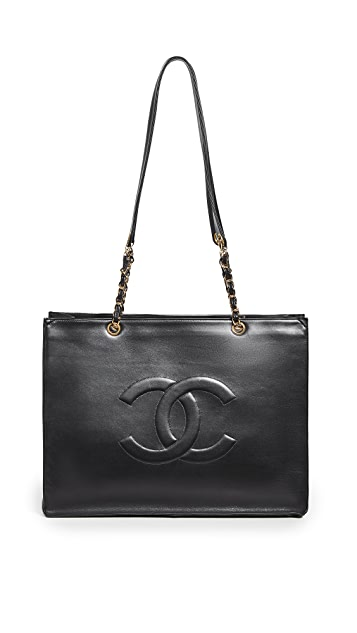 What Goes Around Comes Around Chanel Timeless CC Tote