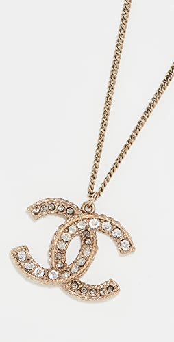 What Goes Around Comes Around - Chanel Enamel CC Necklace