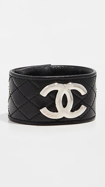 What Goes Around Comes Around Chanel 皮手镯