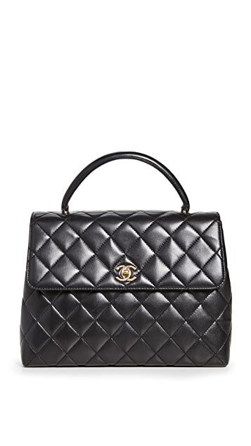 What Goes Around Comes Around Chanel Black Kelly Bag