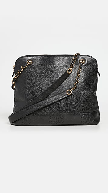 What Goes Around Comes Around Chanel 3 CC Zip Tote