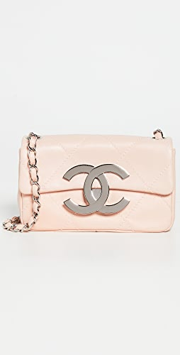 What Goes Around Comes Around - Chanel Pink Lamb Mini Shoulder Bag