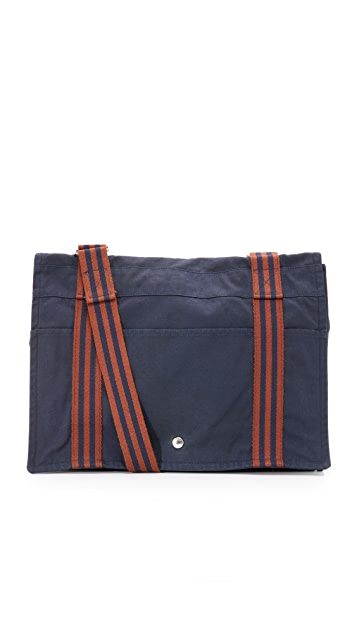 ee947169113 What Goes Around Comes Around Hermes Canvas Fourre Tout Besace Bag ...