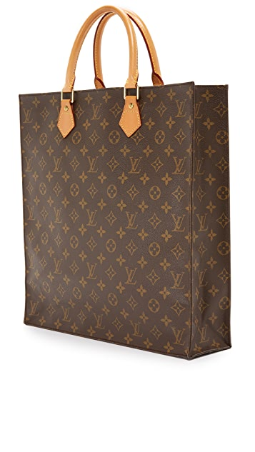 What Goes Around Comes Around Louis Vuitton Monogram Sac Plat Bag (Previously Owned)