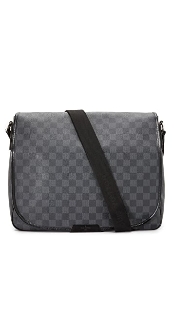 What Goes Around Comes Around Louis Vuitton Damier Graphite Daniel GM Bag (Previously Owned)