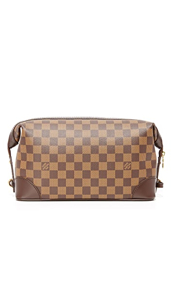 What Goes Around Comes Around Louis Vuitton Damier Ebene Trousse Vaslav Travel Kit (Previously Owned)