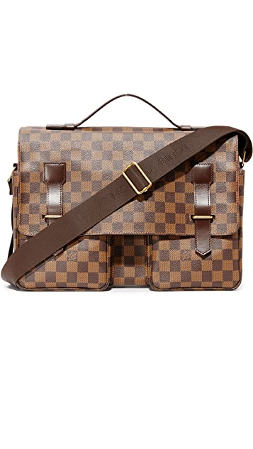 What Goes Around Comes Around Louis Vuitton Damier Ebene Broadway Messenger (Previously Owned)