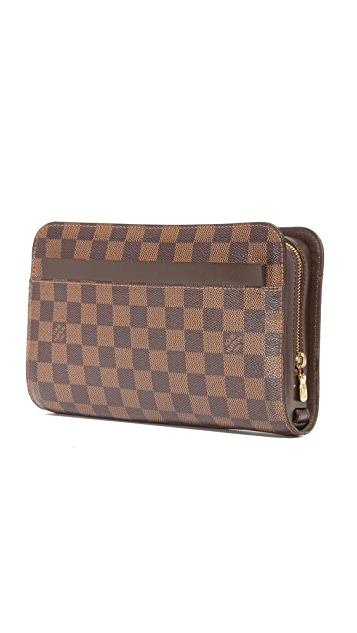What Goes Around Comes Around Louis Vuitton Damier Ebene Saint Louis Pouch (Previously Owned)