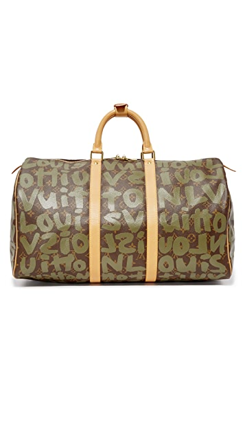 What Goes Around Comes Around Louis Vuitton Stephen Sprouse Keepall 50 Bag (Previously Owned)