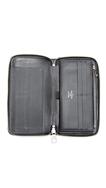What Goes Around Comes Around Louis Vuitton Damier Graphite Zippy Organizer (Previously Owned)