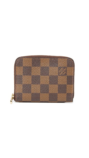What Goes Around Comes Around Louis Vuitton Damier Ebene Zippy Coin Wallet (Previously Owned)