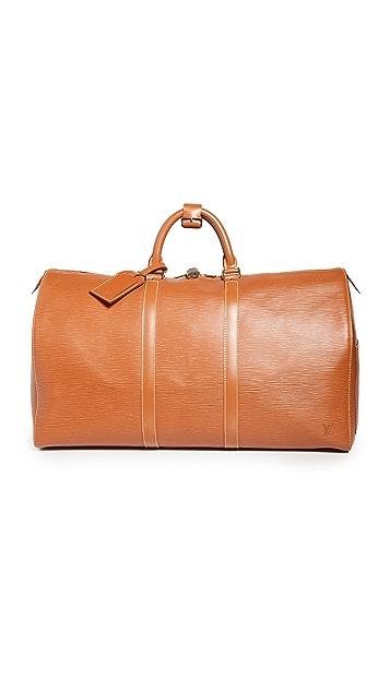 What Goes Around Comes Around Louis Vuitton EPI Keepall 50 包