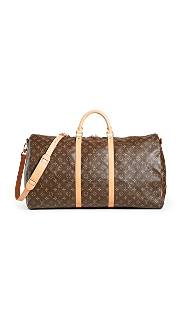What Goes Around Comes Around Louis Vuitton Mono Keepall Bando 60 Bag