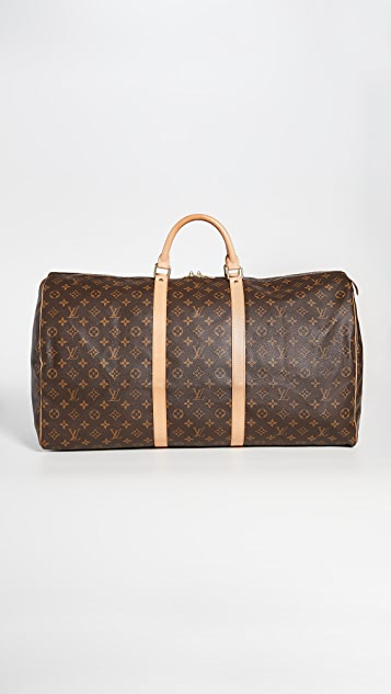 What Goes Around Comes Around Louis Vuitton Mono Keepall 60 Bag