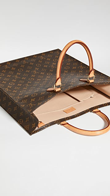 What Goes Around Comes Around Louis Vuitton Monogram Sac Plat Bag