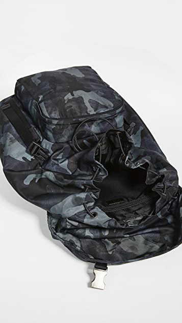 What Goes Around Comes Around Prada Camo Nylon Backpack