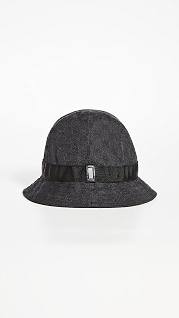 What Goes Around Comes Around Gucci Canvas Bucket Hat