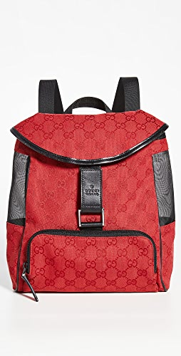 What Goes Around Comes Around - Gucci Canvas Backpack