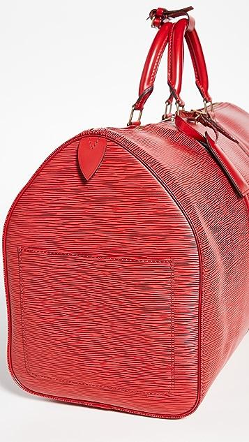 What Goes Around Comes Around Louis Vuitton Epi Keepall 50 Bag